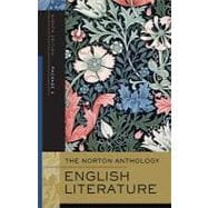 Norton Anthology of English Literature Package 2 Vol. D, E, F