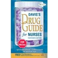 Davis's Drug Guide for Nurses (Book with Access Code)