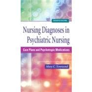 Nursing Diagnoses in Psychiatric Nursing