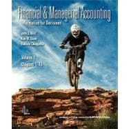 Financial and Managerial Accounting Vol. 1 (Ch. 1-13) softcover with Working Papers