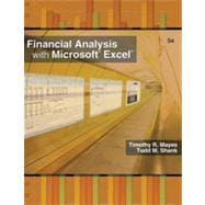 Financial Analysis with Microsoft� Excel� 2007