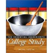 College Study : The Essential Ingredients