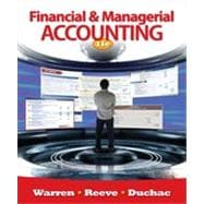 Financial & Managerial Accounting, 11th Edition