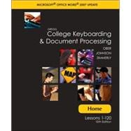 Home (Student) Software w/Installation Guide t/a Gregg College Keyboarding and Document Processing (GDP); Microsoft Word 2007 Update