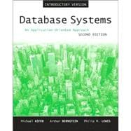 Database Systems : An Application-Oriented Approach, Introductory Version