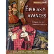 Epocas y avances [Instructor's Edition]; Lengua en su contexto cultural