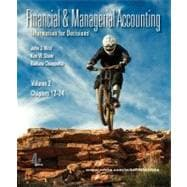 Financial and Managerial Accounting Vol. 2 (Ch. 12-24) softcover with Working Papers