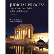 Judicial Process Law, Courts, and Politics in the United States (with InfoTrac)