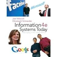 Information Systems Today : Managing the Digital World
