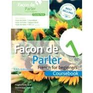 Facon de Parler 1 Course Pack 5th Edition French for Beginners