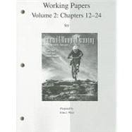 Working Papers (print) Vol 2 to accompany FINMAN, Vol. 2 (Ch. 12-24)