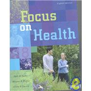 Focus on Health with Online Learning Center Bind-in Card