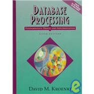 Database Processing: Fundamentals, Design, and Implementation. Text with CD-ROM for Windows