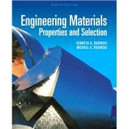 Engineering Materials : Properties and Selection