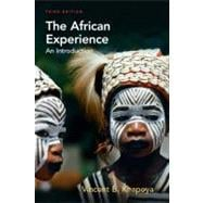 The African Experience An Introduction