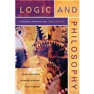 Logic and Philosophy A Modern Introduction