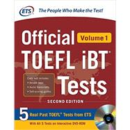 Official TOEFL iBT� Tests Volume 1, 2nd Edition