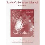Student's Solutions Manual to accompany Calculus