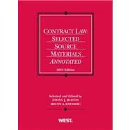 Burton and Eisenberg's Contract Law: Selected Source Materials Annotated, 2013