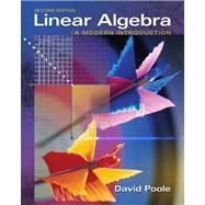 Linear Algebra A Modern Introduction (with CD-ROM)