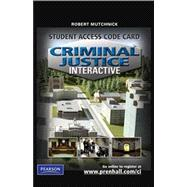 Criminal Justice Interactive Student Access Code Card