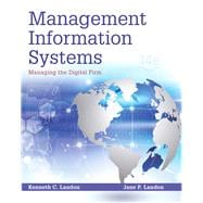 Management Information Systems Managing the Digital Firm Plus MyMISLab with Pearson eText -- Access Card Package