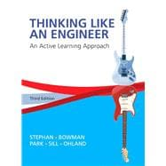 Thinking Like an Engineer An Active Learning Approach Plus MyEngineeringLab -- Access Card Package