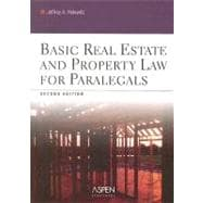 Basic Real Estate and Property Law for Paralegals