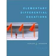 Elementary Differential Equations Bound with IDE CD Package