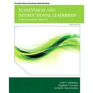 SuperVision and Instructional Leadership A Developmental Approach with Video-Enhanced Pearson eText -- Access Card Package