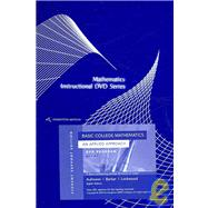 DVD for Aufmann/Barker/Lockwood�s Basic College Mathematics: An Applied Approach, Student Support Edition, 8th
