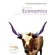 Survey of Economics Value Package (includes MyEconLab with E-Book 1-semester Student Access )