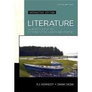 Literature: An Introduction to Fiction, Poetry, and Drama, Interactive Edition (book alone)