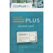 Homework Manager Plus Card to accompany Managerial Accounting for Managers