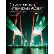 Elementary and Intermediate Algebra (with CengageNOW 2-Semester and Personal Tutor Printed Accesss Card)
