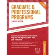 Graduate and Professional Programs : An Overview