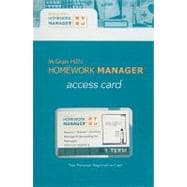 Homework Manager Card to accompany Managerial Accounting for Managers