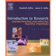 Introduction to Research : Understanding and Applying Multiple Strategies