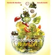 Combo: Contemporary Nutrition with Connect Plus 1 Semester Access Card & Dietary Guidelines Update Resource