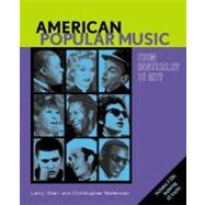 American Popular Music From Minstrelsy to MTV Text & Audio CDs