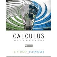 Calculus and Its Applications Value Pack (includes Student's Solutions Manual and Graphing Calculator Manual for Calculus and Its Applications)