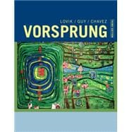 Student Activities Manual for Lovik/Guy/Chavez's Vorsprung: A Communicative Introduction to German Language and Culture, 3rd