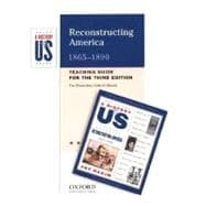 Reconstructing America Elementary Grades Teaching Guide A History of US Book 7