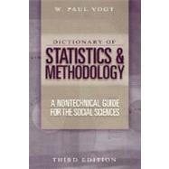 Dictionary of Statistics and Methodology : A Nontechnical Guide for the Social Sciences