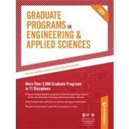 Peterson's Graduate Programs in Engineering & Applied Sciences 2011