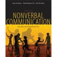 Nonverbal Communication Studies and Applications