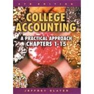 College Accounting 1-15 with Study Guide, Working Papers and Envelope Package