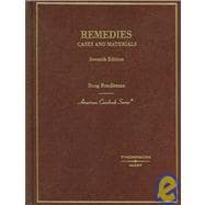 Cases and Materials on Remedies