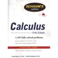 Schaum's Outline of Calculus, 5ed Schaum's Outline of Calc, 5ed