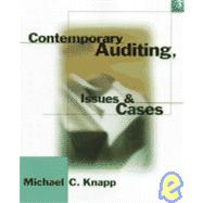 Contemporary Auditing : Issues and Cases